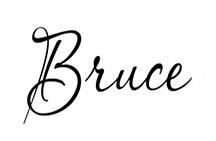 Bruce Lovelace Signature