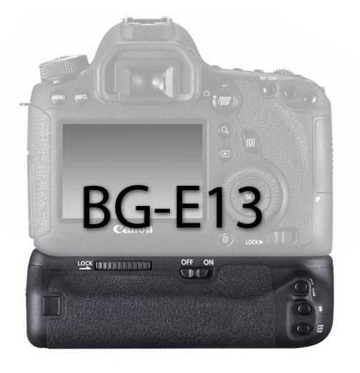 Camera on a Canon BG-E13 Battery Grip