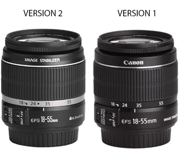 Canon 18-55 lens comparison