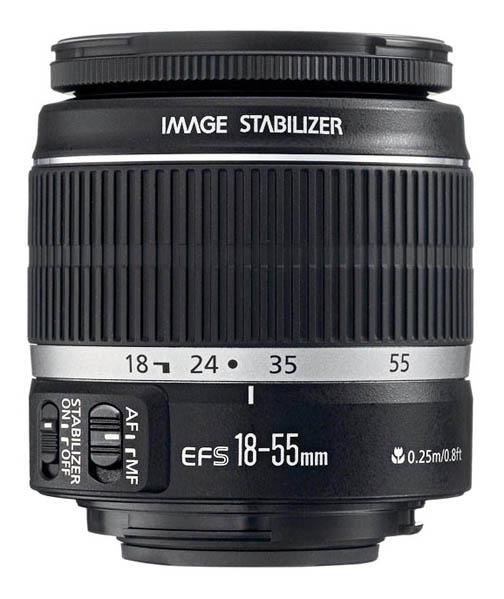 Most popular of the standard kit Canon t3i lenses