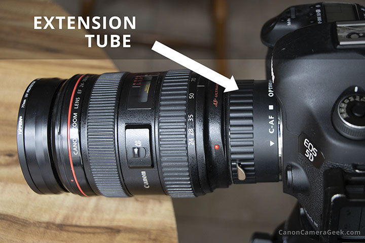 24-105-lens, extension-tube and 5D M3