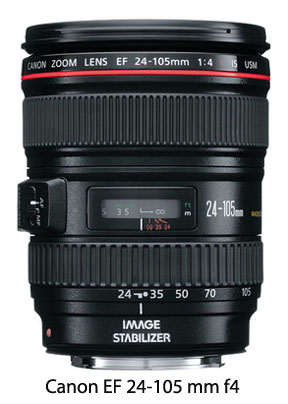 Canon EF 24-105mm f/4.0 lens