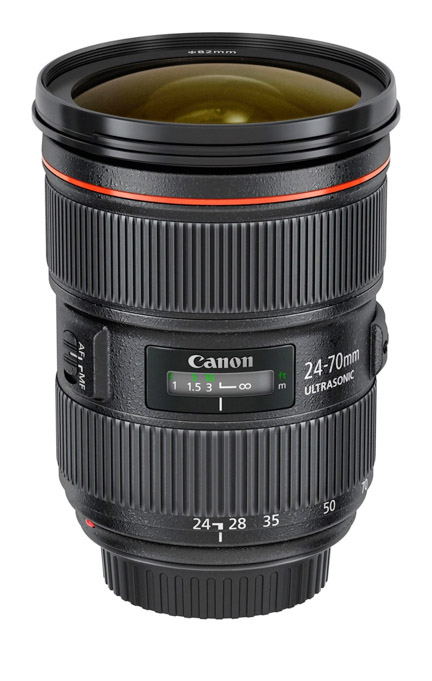 Canon 24-70 USM II General Purpose Zoom Lens
