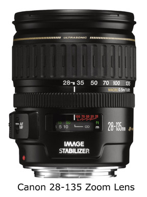 Canon 28-135 lens-photo