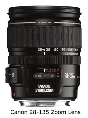 Canon 28-135 lens