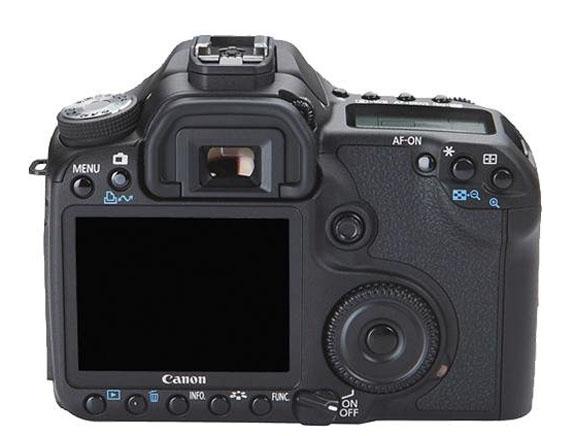 Smaller Canon 50D LCD Screen