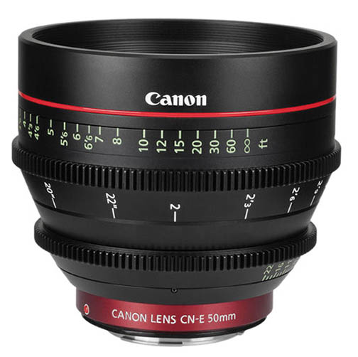 Canon 50mm Prime Cinema Lens