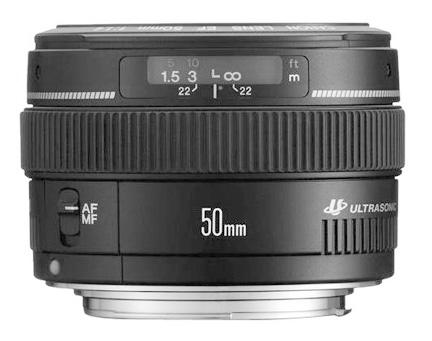 Canon 50mm f1.4 camera lens