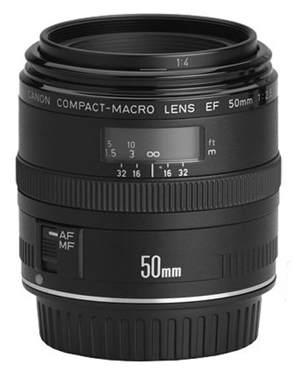 Canon 50mm f2.5 macro lens