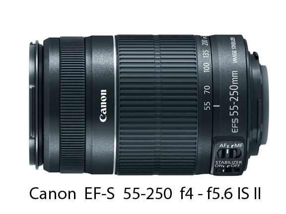 Canon 55-250 Zoom Lens