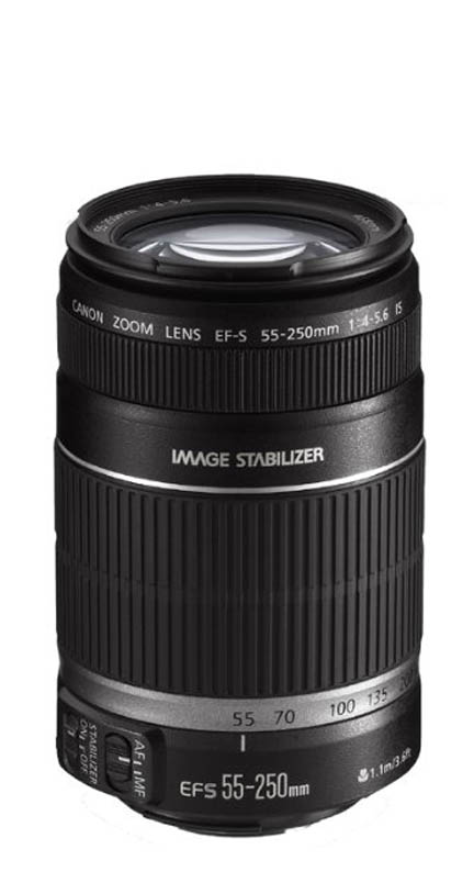 Canon 55-250 for APS-C cameras