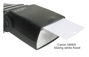 Canon Speedlite EX Sliding Panel