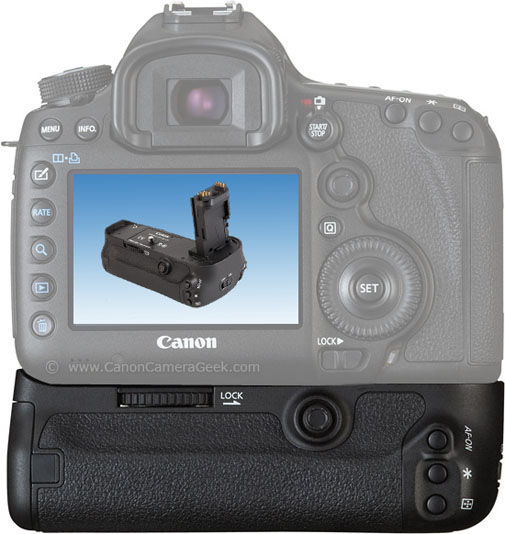 The Canon 5d Mark II Battery Grip