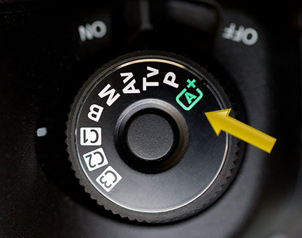 Canon 5D Mark III Mode Dial