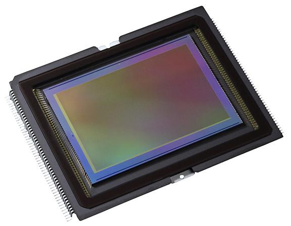 Canon DSLR sensor