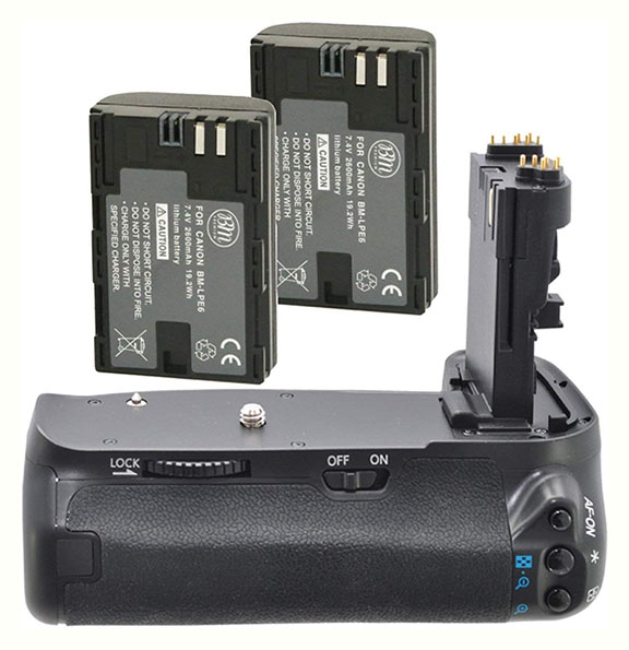 Canon 60D battery grip alternative