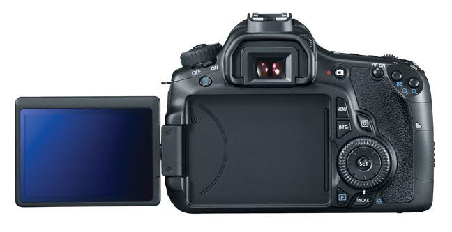 Canon EOS 60D - Flip Out Screen