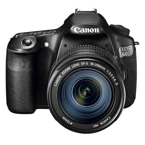 Photograph of Canon 60D Camera