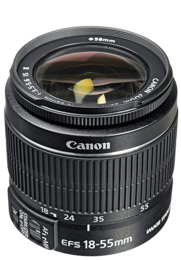Canon 60d 18-55mm kit lens
