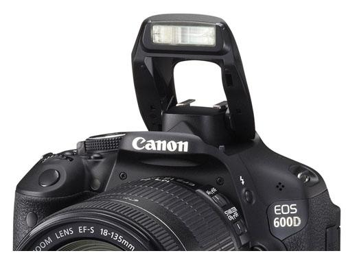 Canon 60D Pop-up Flash