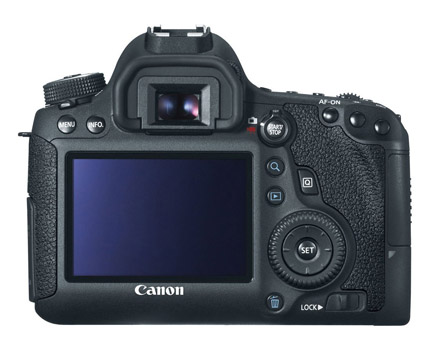 Canon 6D LCD Screen and Rear Camera Controls