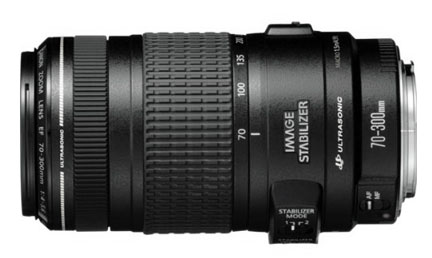 Canon 70-300mm IS Lens