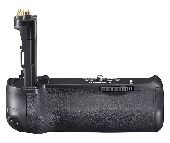 Close-up Photo of Canon BG-E14 Battery Grip