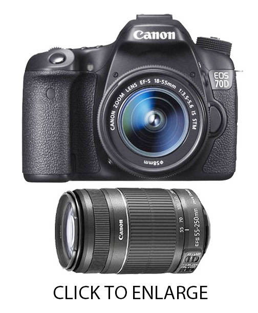 Best two lenses in a simple 70D bundle