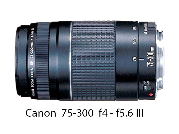 Canon 75-300 f4 - f5.6 Zoom Lens
