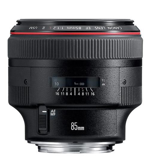 Canon 85mm f/1.2 L Lens