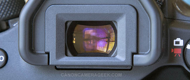 Canon 90D Viewfinder