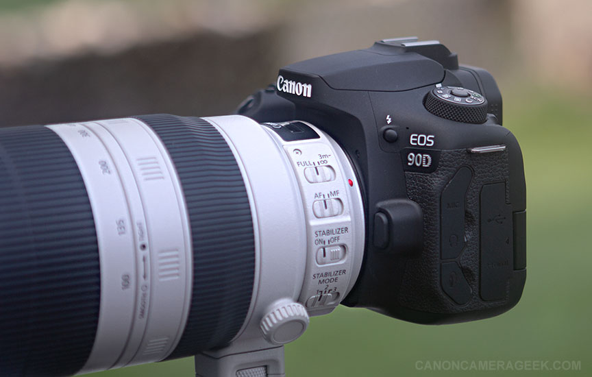Canon 90D with 100-400 Lens