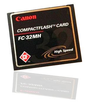 Canon CF Memory Card