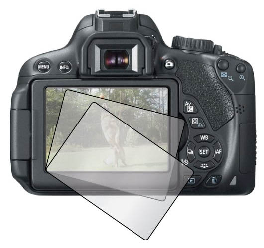 Protect Your Canon T3i With an LCD Screen Protector