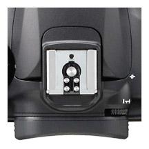 Canon EOS 60D Hot Shoe