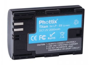Canon EOS 60D Replacement Battery