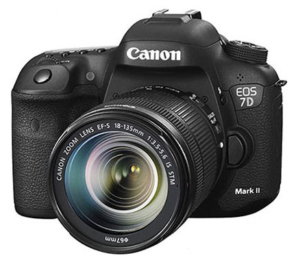 Canon EOS 7D Mark II for Christmas