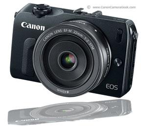 Canon EOS M MirrorLess Camera