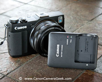 The G1x Mark II Charger is also compact and easy to carry