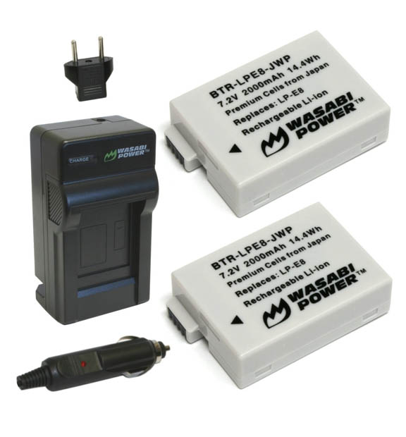 LP-E8 Battery/Charger Substitute
