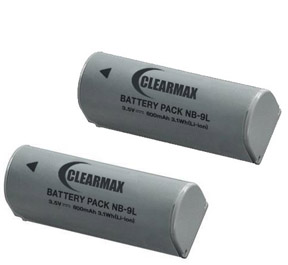 Canon NB-9L Battery Substitute