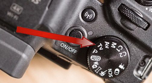 Canon SX70 HS TV Shutter Priority Setting