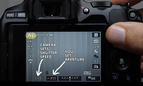Canon SL3 Camera Settings