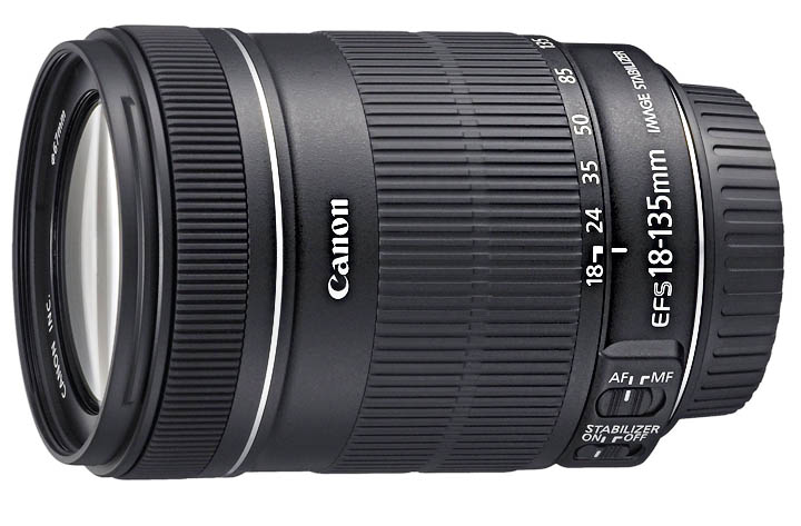Canon T3i Accessories - Most Versatile Lens is 18-135mm IS Lens