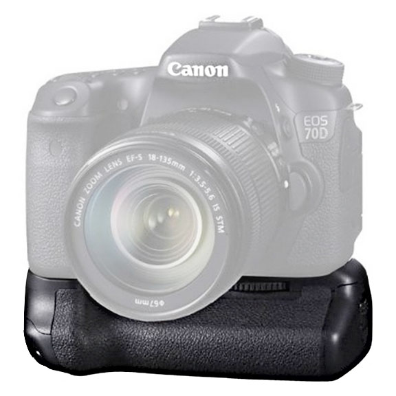 BG-E14 is the Battery Grip for the Canon EOS 70D