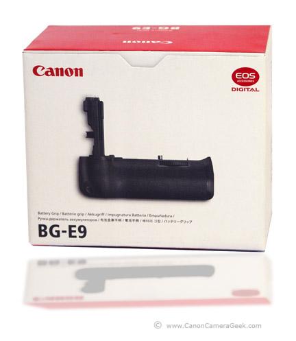 Canon Battery Grip EG-9 Box