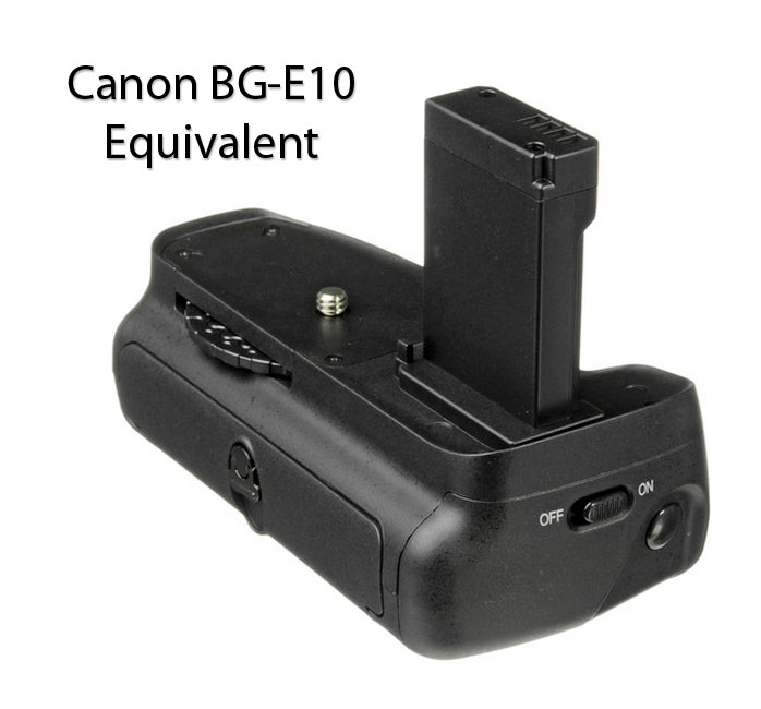 Canon BG-E10 Battery Grip-Equivalent