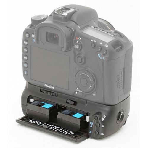 Canon BG-E9 Battery Grip - Double battery drawer