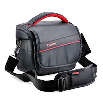 You can get Canon DSLR Protection from a bag like this or a smaller camera case that only protects your camera body and attached lens.