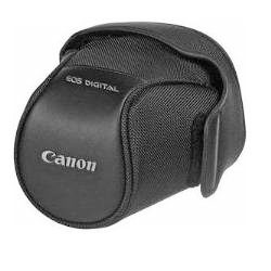 Canon semi-hard case EH19L protects your camera like a bag but can't hold accessories